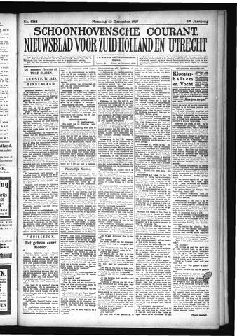 Schoonhovensche Courant 1927-12-12