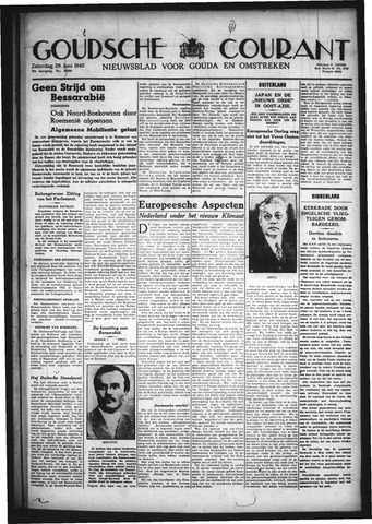 Goudsche Courant 1940-06-29