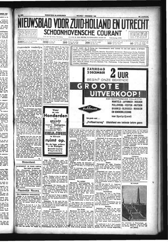 Schoonhovensche Courant 1933-12-01