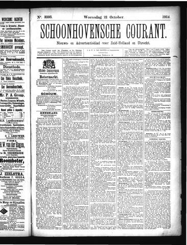 Schoonhovensche Courant 1914-10-21