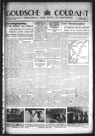 Goudsche Courant 1942-01-22