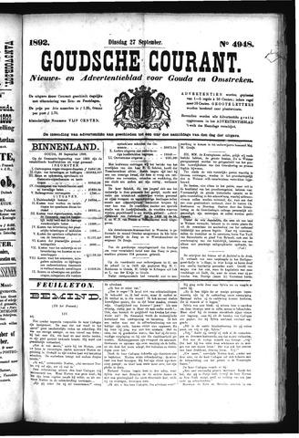 Goudsche Courant 1892-09-27