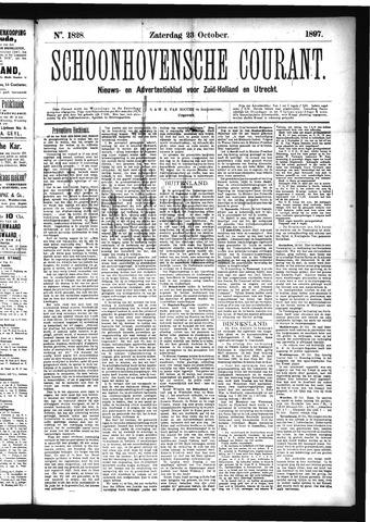 Schoonhovensche Courant 1897-10-23