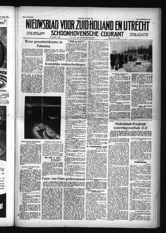 Schoonhovensche Courant 1956-04-30
