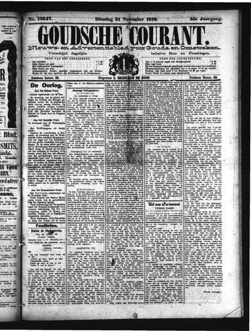 Goudsche Courant 1916-11-21