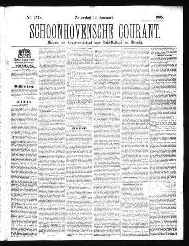 Schoonhovensche Courant 1905-01-14