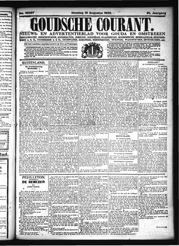 Goudsche Courant 1922-08-15