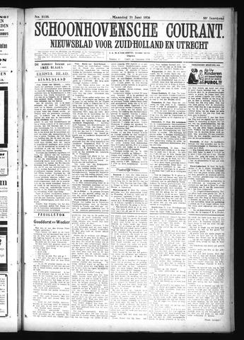 Schoonhovensche Courant 1926-06-21