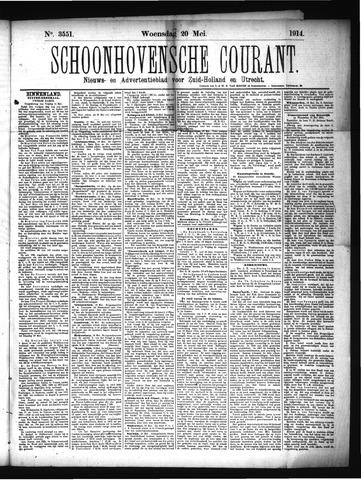 Schoonhovensche Courant 1914-05-20