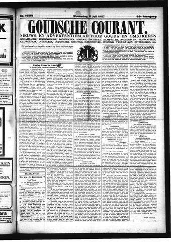 Goudsche Courant 1927-07-06