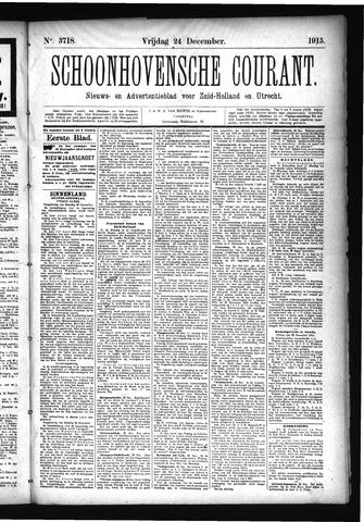 Schoonhovensche Courant 1915-12-24