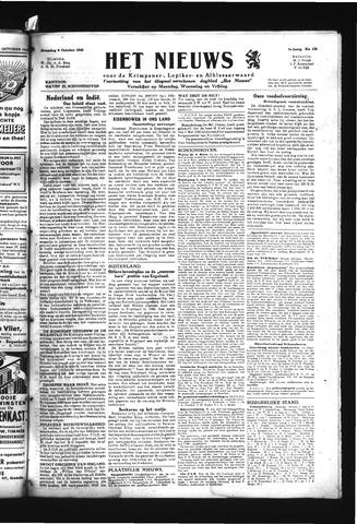 Schoonhovensche Courant 1945-10-08