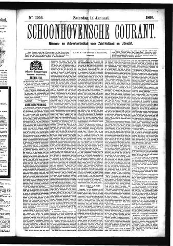 Schoonhovensche Courant 1899-01-14