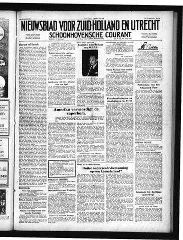 Schoonhovensche Courant 1950-02-01