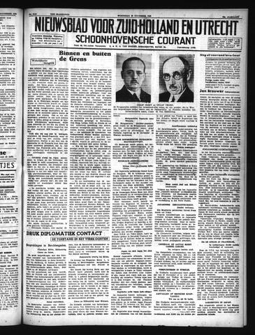 Schoonhovensche Courant 1940-11-20