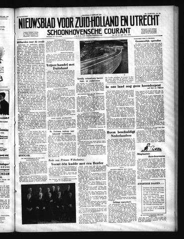 Schoonhovensche Courant 1950-02-06