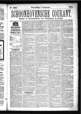Schoonhovensche Courant 1911-08-02