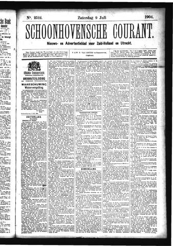 Schoonhovensche Courant 1904-07-09