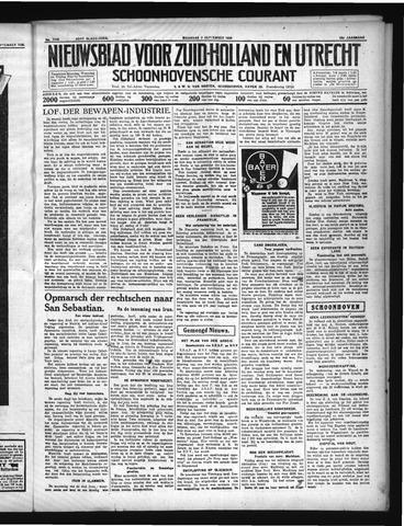 Schoonhovensche Courant 1936-09-07