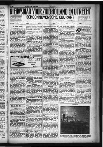 Schoonhovensche Courant 1932-07-22