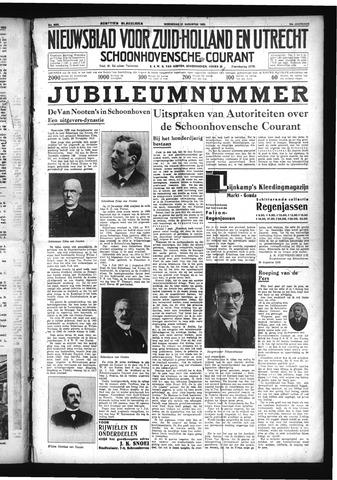 Schoonhovensche Courant 1932-08-31