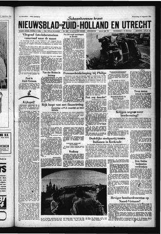 Schoonhovensche Courant 1966-08-10
