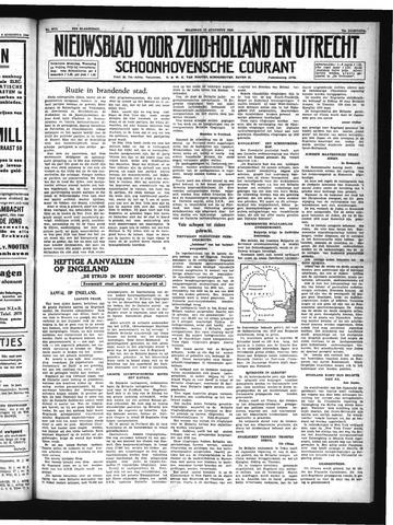 Schoonhovensche Courant 1940-08-12