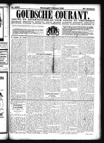 Goudsche Courant 1925-02-23
