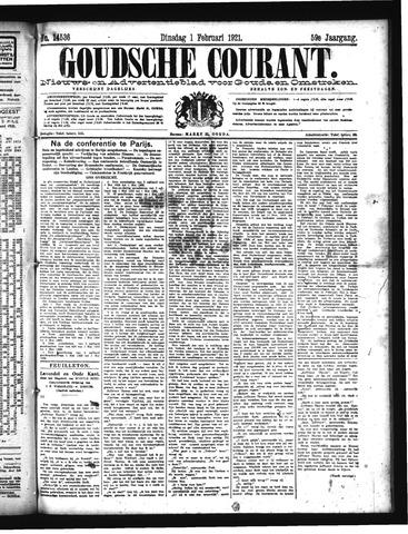 Goudsche Courant 1921-02-01
