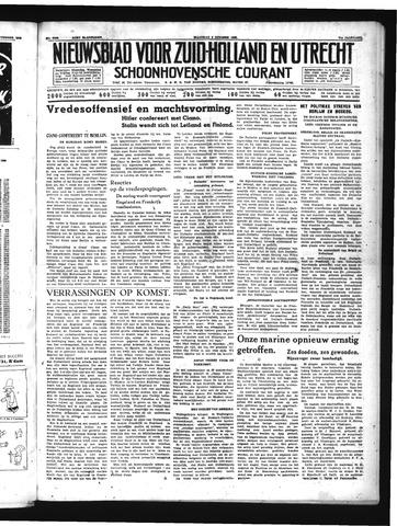 Schoonhovensche Courant 1939-10-02