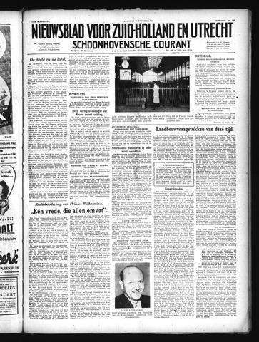 Schoonhovensche Courant 1949-11-28