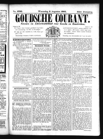 Goudsche Courant 1905-08-09