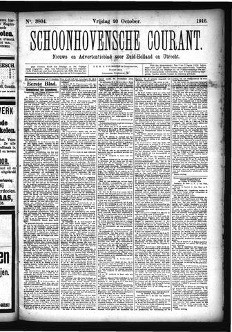 Schoonhovensche Courant 1916-10-20