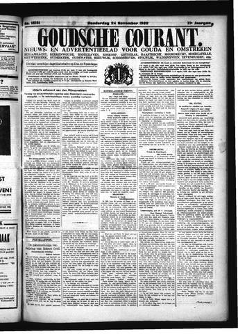 Goudsche Courant 1932-11-24