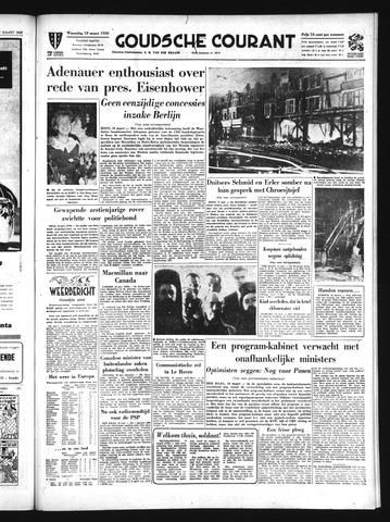 Goudsche Courant 1959-03-18