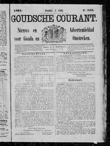 Goudsche Courant 1863-07-05