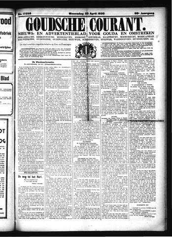 Goudsche Courant 1930-04-23