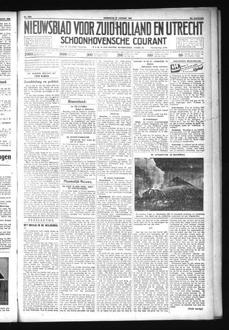 Schoonhovensche Courant 1932-01-27