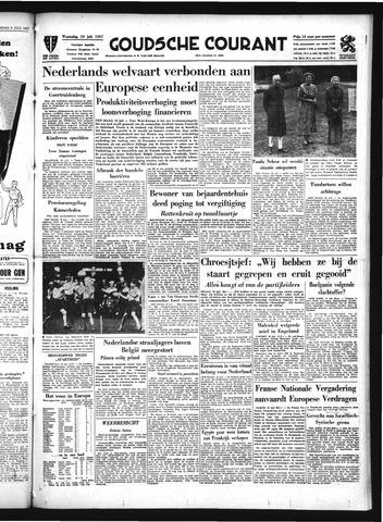 Goudsche Courant 1957-07-10