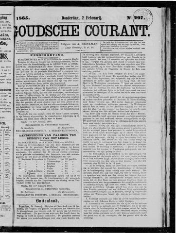 Goudsche Courant 1865-02-02