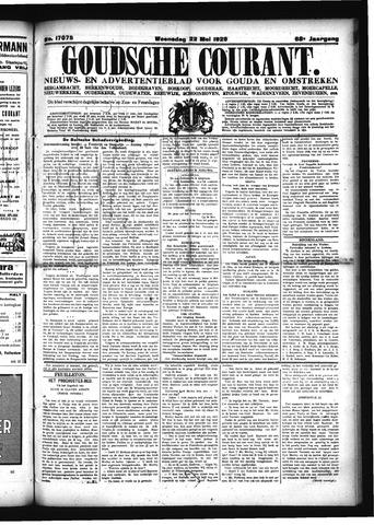 Goudsche Courant 1929-05-22