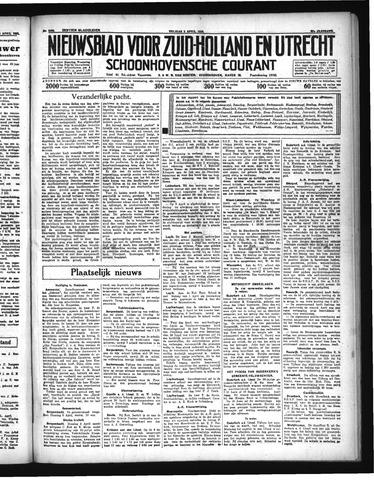 Schoonhovensche Courant 1935-04-05