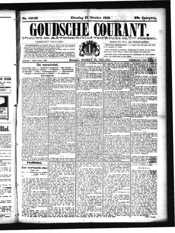 Goudsche Courant 1919-10-21