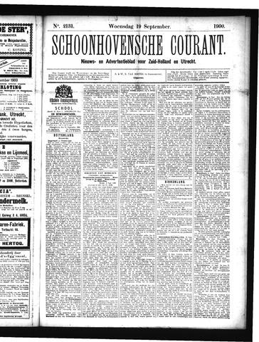 Schoonhovensche Courant 1900-09-19