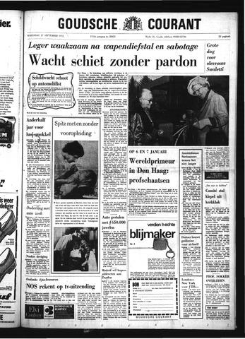 Goudsche Courant 1972-09-27
