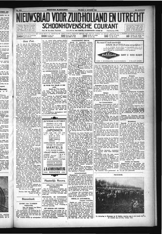 Schoonhovensche Courant 1932-10-14