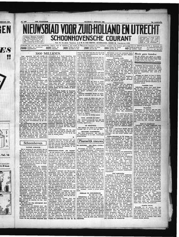 Schoonhovensche Courant 1938-02-07