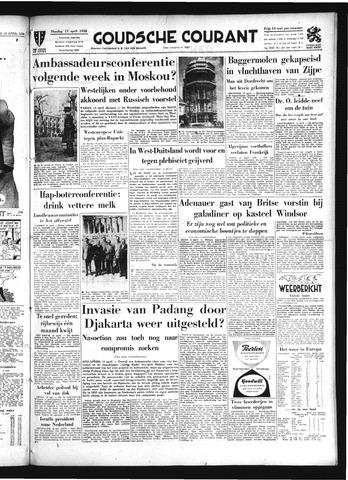 Goudsche Courant 1958-04-15