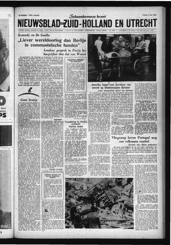 Schoonhovensche Courant 1961-06-02