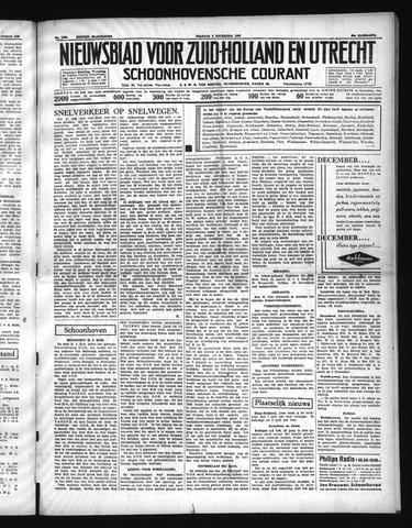 Schoonhovensche Courant 1937-12-03